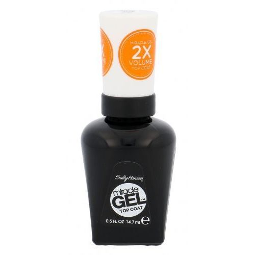 Miracle Gel STEP2 lakier do paznokci 14,7 ml dla kobiet 101 Top Coat (Sally  Hansen)
