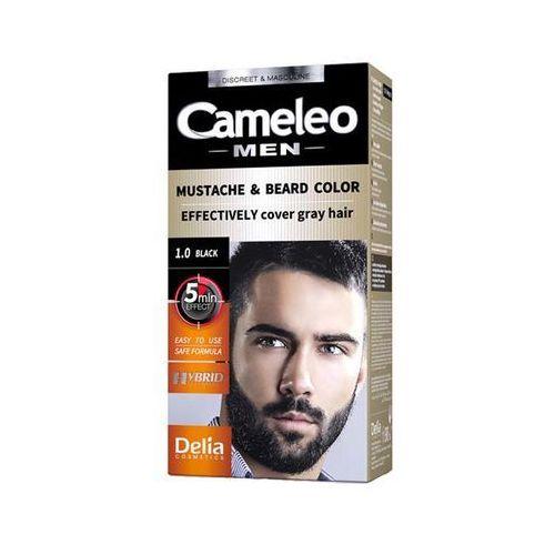 Delia Cameleo Men Farba Do Brody I Wąsów Black 10 Black 10