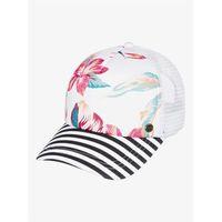 czapka z daszkiem ROXY - Btfl Morning Snow White Tropic Call (WBK7)