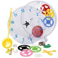 Zegar ścienny do nauki Techno Line Geneva Kids Clock Mechaniczny, (ØxG) 20 cmx3.5 cm, Geneva Kids Clock