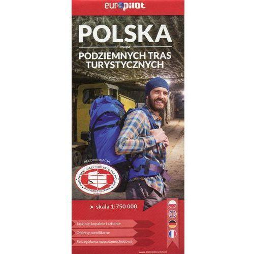 Polska mapa podziemnych tras turystycznych 1:750 000 - Euro Pilot (2 str.)