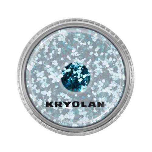 Kryolan POLYESTER GLIMMER COARSE (TURQUOISE) Gruby sypki brokat - TURQUOISE (2901) - Bardzo popularne