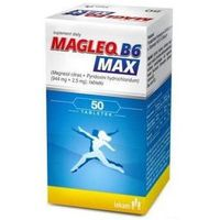 Tabletki MAGLEQ B6 MAX x 50 tabletek