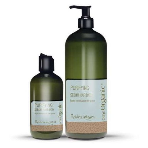 Sebum Hair Bath - Normalizująca kąpiel do włosów i skóry głowy z tendencją do przetłuszczania i nadmiernego wydzielania sebum. Zawiera oliwę z oliwek i olej Marula 250ml, KZEWKW