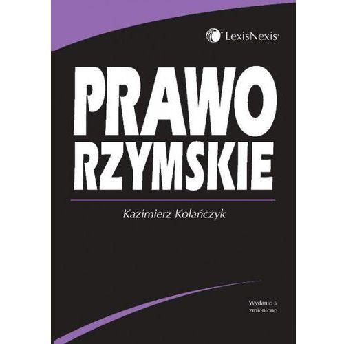 Prawo rzymskie, Kazimierz Kolańczyk