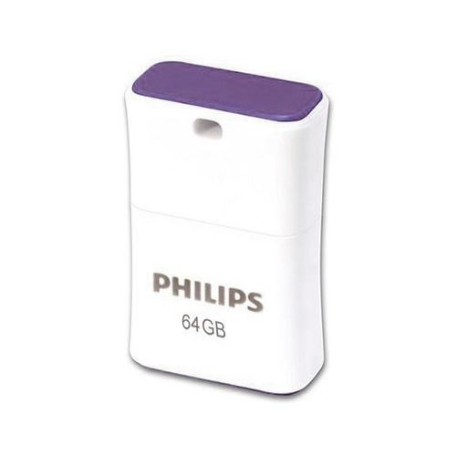 Philips pendrive usb 2.0 64gb - pico edition (fioletowy) (8719274665465)