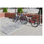 Stojak rowerowy na parking z naprzemiennym stanowiskami top marki Eco-market.pl
