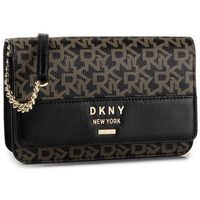 Torebka DKNY - Ava Wallet On A Stri R935JD70 Ebony/Blk NHO