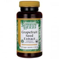 Swanson Grapefruit (ekstrakt z nasion) 100mg - (100 kap) (0087614142692)