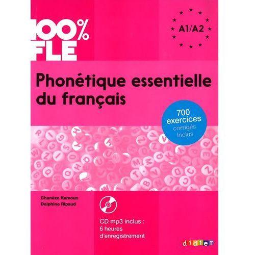 Phonetique Essentielle du Francais + CD. Poziom A1/A2, Didier