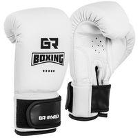 Rękawice bokserskie dla dzieci - białe - 4 oz