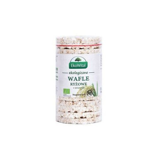 BIO Wafle ryżowe z sezamem bez soli bezglutenowe 1 szt - Bardzo popularne