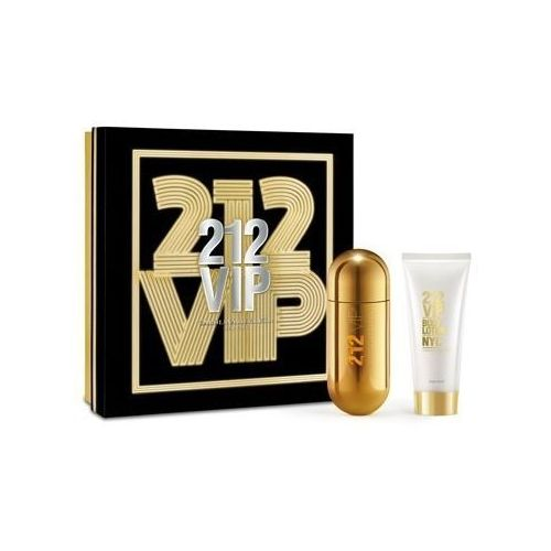 Carolina herrera 212 vip woman. zestaw woda perfumowana spray 80 ml, balsam do ciała 100 ml - carolina herrera
