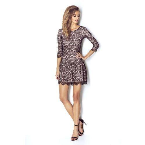 56bbddc4 Szykowna koronkowa sukienka z obniżonym stanem (Wow Point)