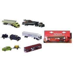 Majorette Ciężarówki i samochody z przyczepami