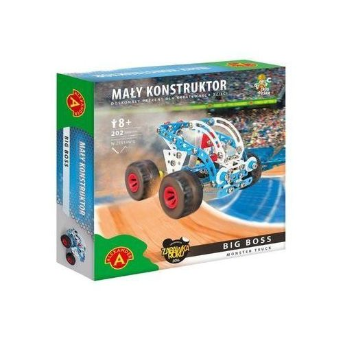 Mały konstruktor Monster Truck - Big Boss ALEX