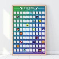 Plakat Zdrapka 100 Aktywności z Dziećmi, GR630039