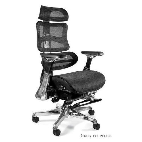 Fotel biurowy obrotowy UNIQUE ERGOTHRONE z podnóżkiem CM-B37A-2