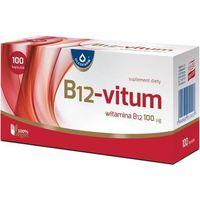 B12-Vitum, 100 kapsułek - Długi termin ważności! DARMOWA DOSTAWA od 39,99zł do 2kg! (5708932905312)