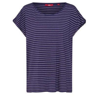 5b0cec13c5495f T-shirt w kwiaty biały-magenta-nocny oliwkowy, Bonprix, 44-46 ceny ...