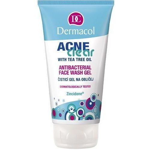 Dermacol AcneClear Antibacterial Face Wash Gel 150ml W Żel do mycia twarzy