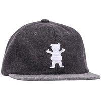 czapka z daszkiem GRIZZLY - Upstream Strapback - Spring Charcoal/Heather (CHAR) rozmiar: OS