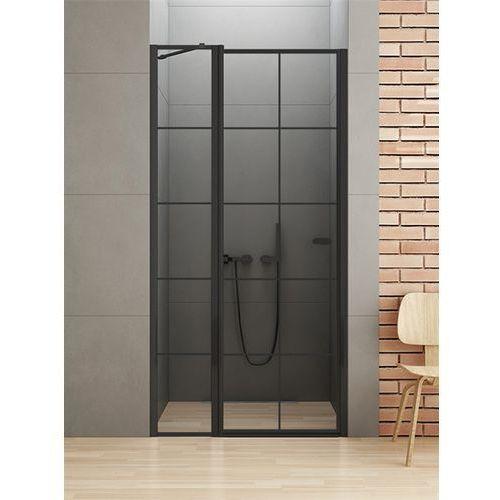 New trendy Drzwi prysznicowe 90 cm d-0279a new soleo black uzyskaj rabat na kabinę w sklepie