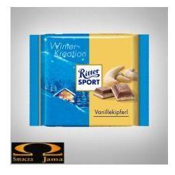 Czekolada Ritter Sport Winter- Kreation Vanillekipferl 100g, BB35-301CE
