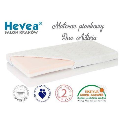 Hevea Materac piankowy duo activia 120x60 + poduszka 45/45 gratis! sklep firmowy w krakowie - rabaty i gratisy sprawdź