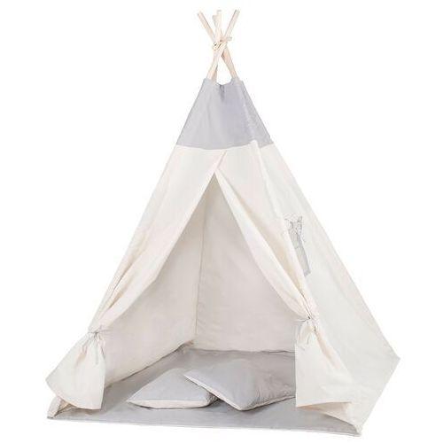 Springos Namiot tipi dla dzieci wigwam szary xxl