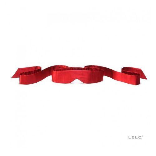 intima silk blindfold – opaska na oczy jedwabna czerwona marki Lelo