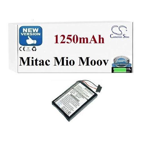 Powersmart Bateria do mitac mio moov 300 310 330 580 1250mah