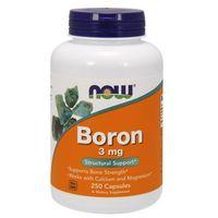 Now Foods Boron 3mg 250kaps.