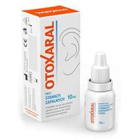 Krople Otoxaral krople do uszu 10ml