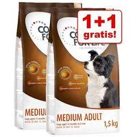 Concept for life 1+1 gratis! karma sucha dla psa, 2 x 1,5 kg - medium junior