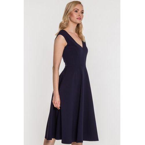 2fbb355f70 Zobacz ofertę Aggi Rozkloszowana sukienka eksponująca plecy adrianna