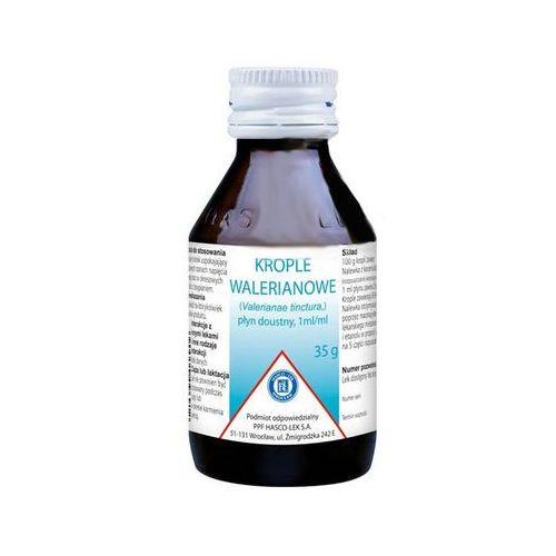 Krople walerianowe płyn doustny - 35 g