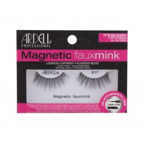 Ardell Magnetic Lashes Faux Mink 817 sztuczne rzęsy 1 szt dla kobiet Black - Super upust
