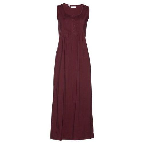 Sukienka bonprix czerwony klonowy, kolor czerwony
