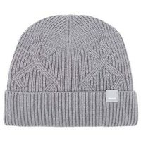 czapka zimowa BENCH - Fishermans Interest Rib Beanie Dark Grey Marl Winter (MA1053)