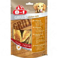8in1 Delights Grills Chicken - 80 g, P8IN067