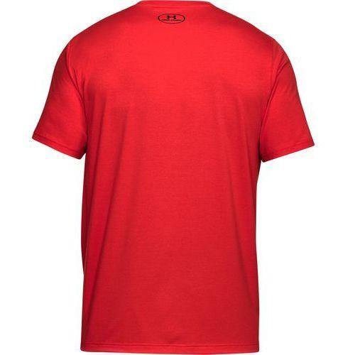 80b335b2641db1 Koszulka blocked sportstle logo czerwona - czerwony Under armour