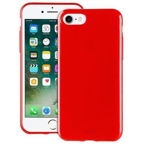 Sunny kit - zestaw etui iphone 7 + składane okulary przeciwsłoneczne (czerwony) Puro