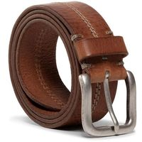 Pasek Męski WRANGLER - Double Stitch Belt W0C8U1X81 Cognac