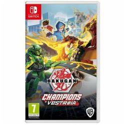 Bakugan: champions of vestroia nintendo switch marki Wb games