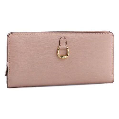 8e39097f1fb95 Zobacz ofertę Lauren ralph lauren Duży portfel damski - bennington0017  mellow pink