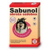 Derma-pharm Sabunol obroża różowa przeciw pchłom i kleszczom dla psa 50cm