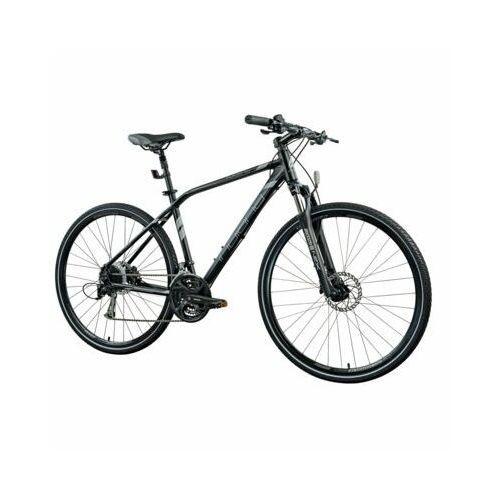 Rower x-cross 4.0 m21 czarny | 5 lat gwarancji na ramę darmowy transport marki Indiana