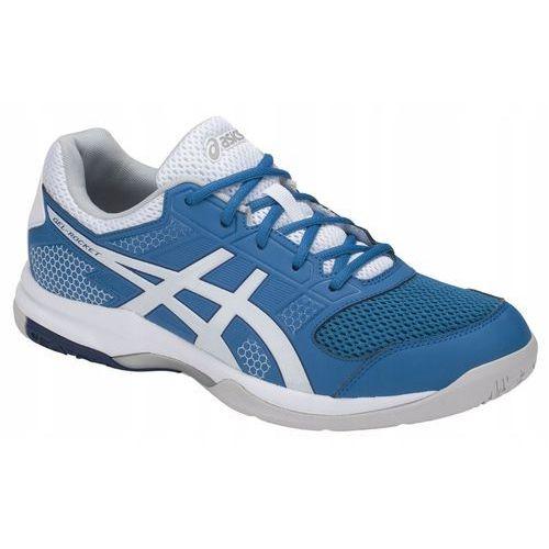 MĘSKIE BUTY HALOWE ASICS GEL-ROCKET 8 B706Y-401 43,5, kolor niebieski