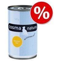 Cosma Nature, 24 x 140 g w super cenie! - Tuńczyk| Darmowa Dostawa od 89 zł i Super Promocje od zooplus! (4260077042877)